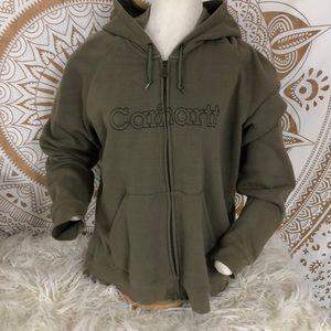 Carhartt Women's Full ZIP Hooded Jacket XL
